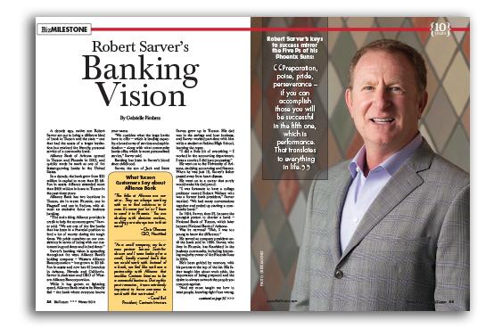 Photo of Robert Sarver's Banking Vision