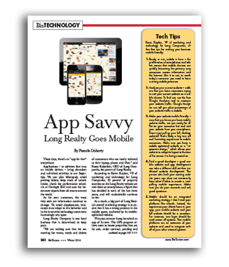 Photo of App Savvy Long Realty Goes Mobile