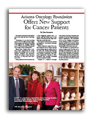 Photo of Arizona Oncology Foundation Offers New Support for Cancer Patients