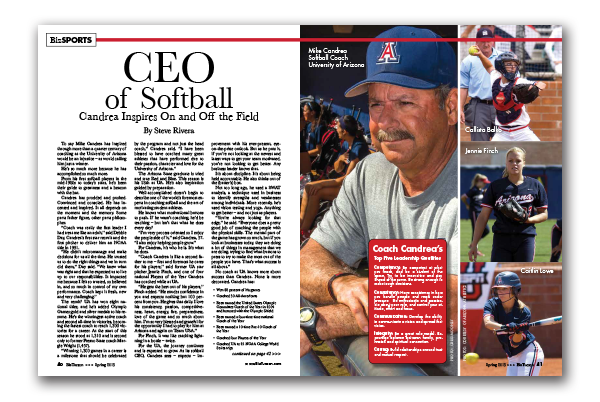 Photo of CEO of Softball – Candrea Inspires On and Off the Field