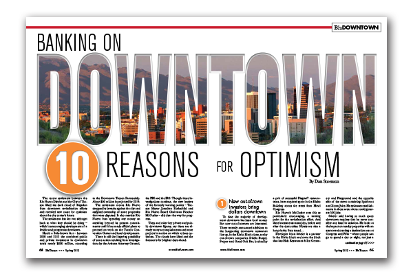 Photo of BANKING ON DOWNTOWN – 10 REASONS FOR OPTIMISM