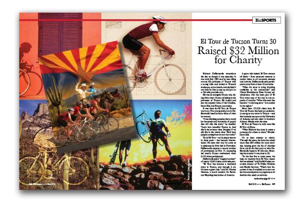 Photo of El Tour de Tucson Turns 30 Raised $32 Million for Charity