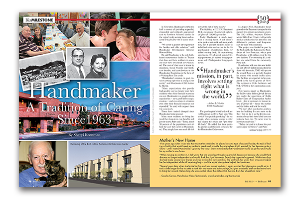 Photo of Handmaker –  A Tradition of Caring Since 1963