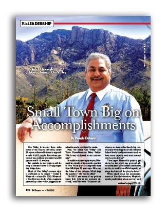 Photo of Small Town Big on Accomplishments