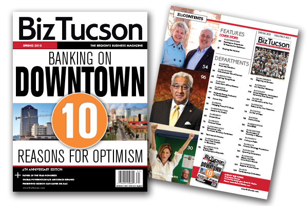 Photo of SPRING ISSUE 2013 – Banking on Downtown