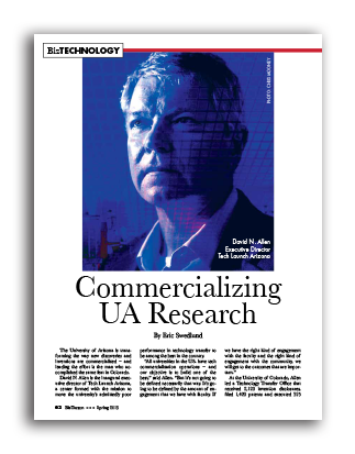 Photo of Commercializing UA Research