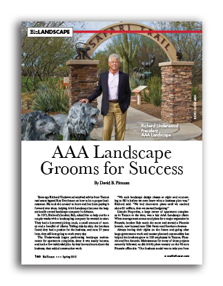 Photo of AAA Landscape Grooms for Success