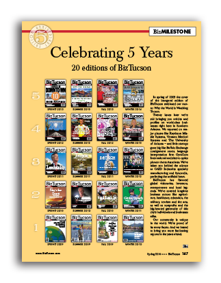 Photo of Celebrating 5 Years 20 editions of BizTucson