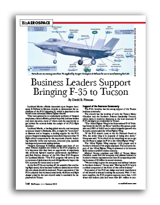 Photo of Business Leaders Support Bringing F-35 to Tucson