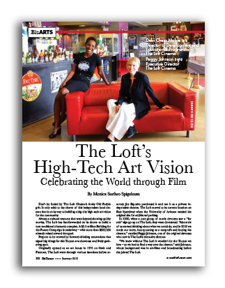 Photo of The Loft's High-Tech Art Vision Celebrating the World through Film