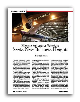Photo of Marana Aerospace Solutions Seeks New Business Heights