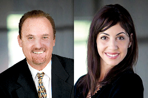 Photo of Brian and Mara Mitchell Form Real Estate Team