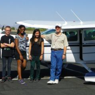 Photo of STUDENTS GO ON THE FLIGHT OF THEIR LIVES