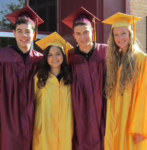 Photo of Salpointe Catholic High School Graduates 263 Students for Class of 2014