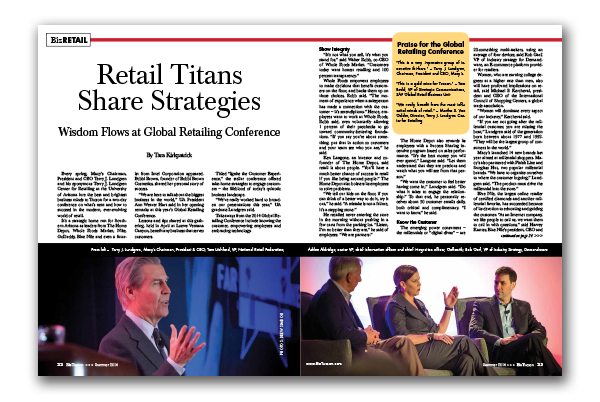 Photo of Retail Titans Share Strategies – Wisdom Flows at Global Retailing Conference