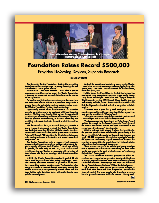 Photo of Foundation Raises Record $500,000 – Provides Life-Saving Devices, Supports Research