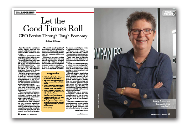 Photo of Let the Good Times Roll – CEO Persists Through Tough Economy