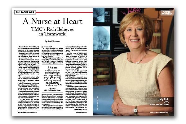 Photo of A Nurse at Heart – TMC's Rich Believes in Teamwork