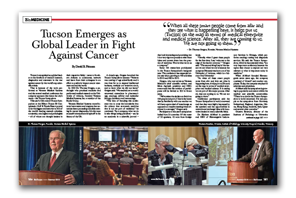Photo of Tucson Emerges as Global Leader in Fight Against Cancer