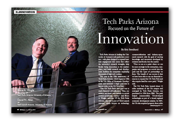 Photo of Tech Parks Arizona Focused on the Future of Innovation