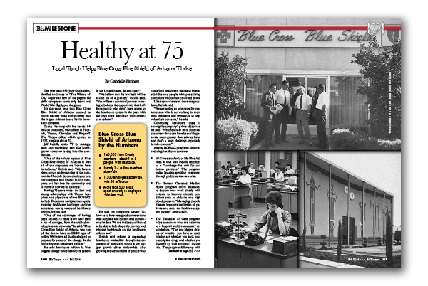 Photo of Healthy at 75 – Local Touch Helps Blue Cross Blue Shield of Arizona Thrive