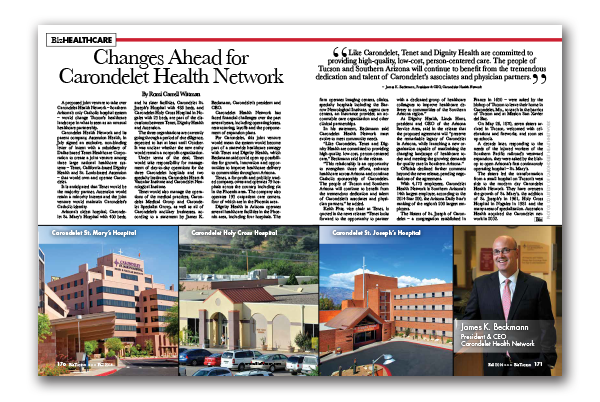Photo of Changes Ahead for Carondelet Health Network