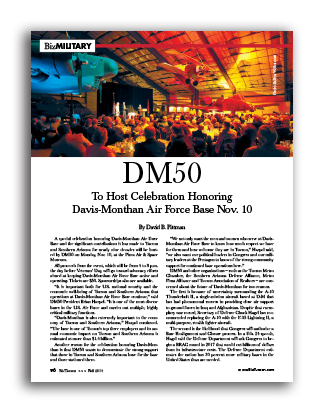 Photo of DM50 – To Host Celebration Honoring Davis-Monthan Air Force Base Nov. 10
