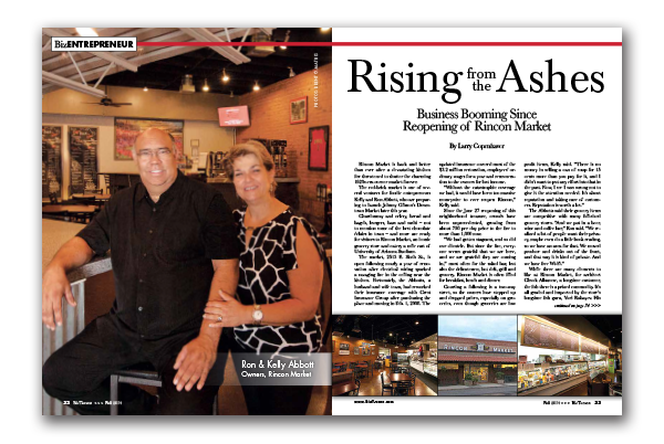 Photo of Rising from the Ashes – Business Booming Since  Reopening of Rincon Market
