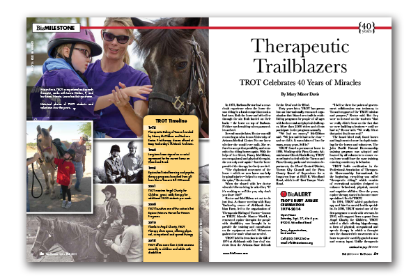 Photo of Therapeutic Trailblazers – TROT Celebrates 40 Years of Miracles