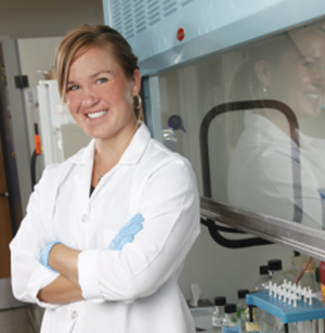 Photo of Jessica Miller, PhD, awarded Susan G. Komen grant to study breast cancer-related chronic pain