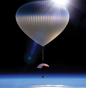 Photo of PARAGON COMPLETES RECORD-BREAKING NEAR-SPACE DIVE VIA HIGH-ALTITUDE BALLOON