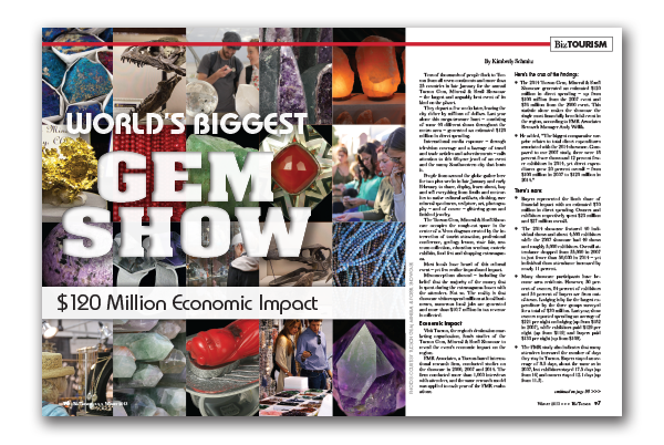 Photo of World's Biggest Gem Show – $120 Million Economic Impact