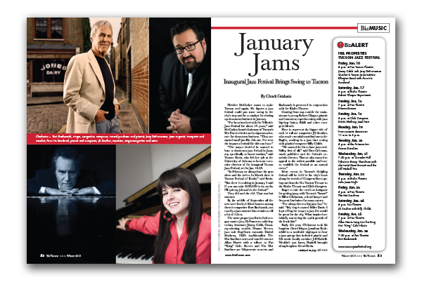 Photo of January Jams – Inaugural Jazz Festival Brings Swing to Tucson