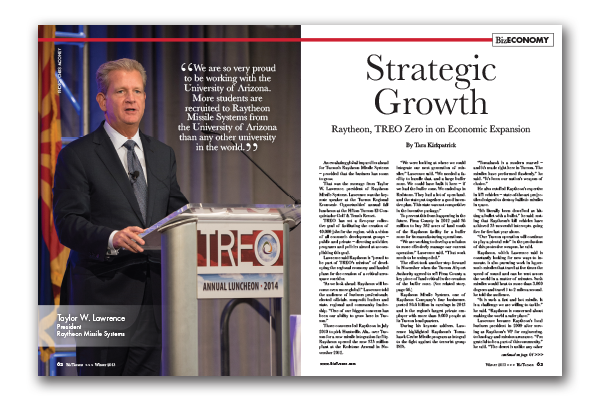 Photo of Strategic Growth – Raytheon, TREO Zero in on Economic Expansion