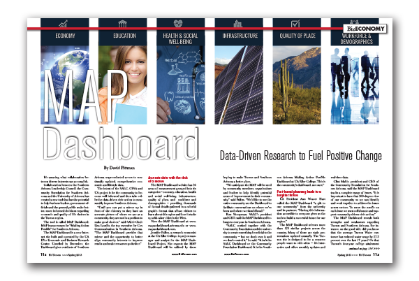 Photo of MAP Dashboard – Data-Driven Research to Fuel Positive Change
