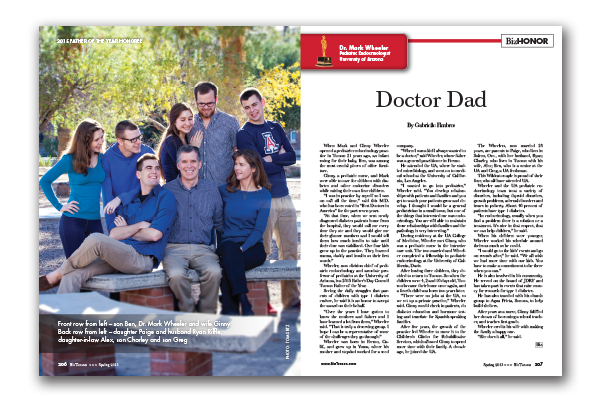 Photo of DR. MARK WHEELER – Doctor Dad