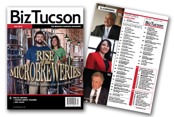 Photo of BizTUCSON FALL 2015 ISSUE