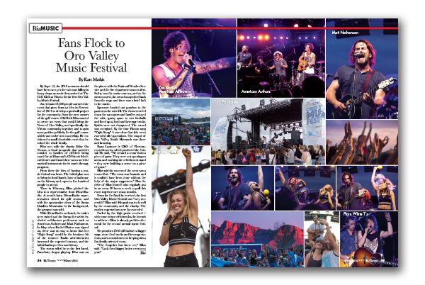 Photo of Fans Flock to Oro Valley Music Festival