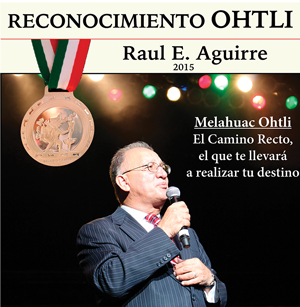 Photo of Raul Aguirre Receives Highest Honor