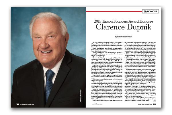Photo of Clarence Dupnik