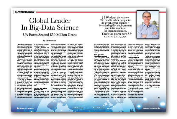 Photo of Global Leader in Big-Data Science
