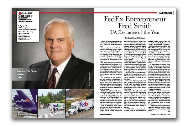 Photo of FedEx Entrepreneur Fred Smith