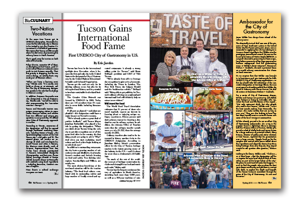 Photo of Tucson Gains International Food Fame