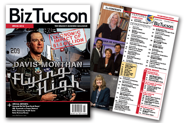 Photo of BizTUCSON Spring 2016 Issue