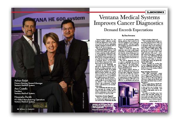 Photo of Ventana Medical Systems Improves Cancer Diagnostics