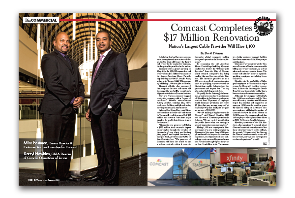 Photo of Comcast Completes $17 Million Renovation