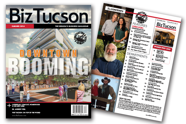Photo of BizTUCSON Summer 2016 Issue