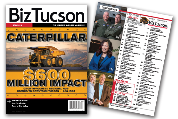 Photo of BizTUCSON Fall 2016 Issue