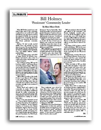 Photo of Bill Holmes