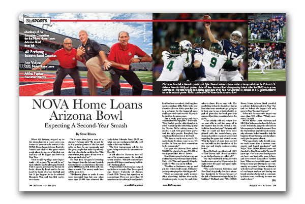 Photo of NOVA Home Loans Arizona Bowl